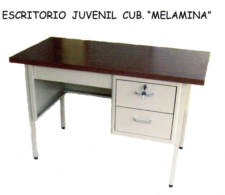 Escritorio met lico juvenil proveedor de equipo y for Proveedores de mobiliario de oficina