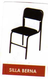 Silla berna proveedor de equipo y mobiliario para oficina for Proveedores de sillas de oficina