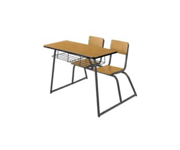 Mesabanco duplex en madera proveedor de equipo y for Proveedores de mobiliario de oficina