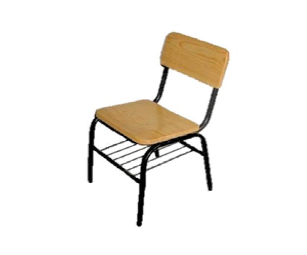 Silla dual primaria de madera proveedor de equipo y for Proveedores de mobiliario de oficina